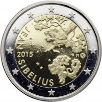 Finnland 2 Euro 2015 Jean Sibelius PP