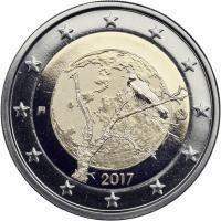 Finnland 2 Euro 2017 Finnische Natur PP