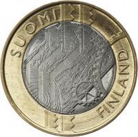 Finnland 5 Euro 2011 5. Provinz Uusimaa, prfr