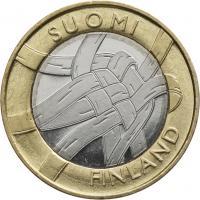 Finnland 5 Euro 2011 6. Provinz Karelien, prfr