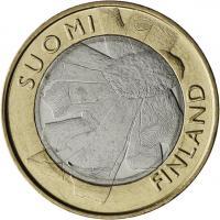 Finnland 5 Euro 2011 7. Provinz Ostbottnien, prfr