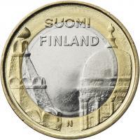 Finnland 5 Euro 2012 Uusimaa/ Dom u. Kathedrale