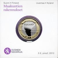 Finnland 5 Euro 2012 Uusimaa/ Dom u. Kathedrale PP