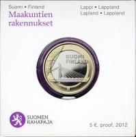 Finnland 5 Euro 2012 Lappland/ Brücke PP