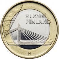 Finnland 5 Euro 2012 Lappland/ Brücke