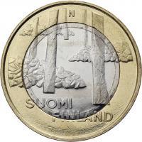 Finnland 5 Euro 2013 Satakunta / Steingräber