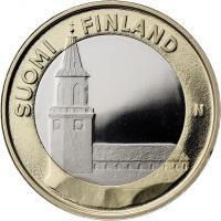 Finnland 5 Euro 2013 Varsinais / Kathedrale PP