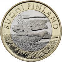 Finnland 5 Euro 2014 Karelien / Kuckuck
