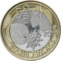 Finnland 5 Euro 2014 Nordische Natur