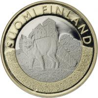 Finnland 5 Euro 2014 Südwest-Finnland / Fuchs PP