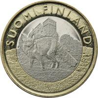 Finnland 5 Euro 2014 Südwest-Finnland / Fuchs