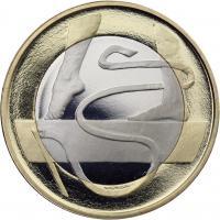 Finnland 5 Euro 2015 Gymanastik PP