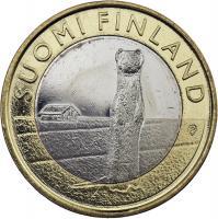 Finnland 5 Euro 2015 Ostbottnien / Hermelin