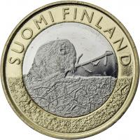 Finnland 5 Euro 2015 Satakunta / Biber