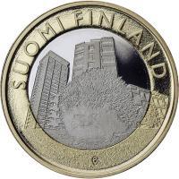 Finnland 5 Euro 2015 Uusimaa / Igel PP