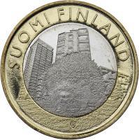 Finnland 5 Euro 2015 Uusimaa / Igel