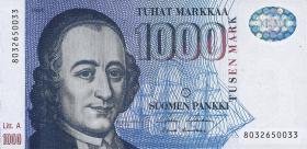 Finnland / Finland P.121 1000 Markkaa 1986 (1991) (1)