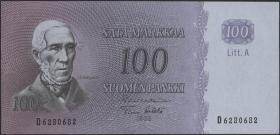 Finnland / Finland P.106 100 Markkaa 1963 (1)