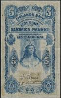 Finnland / Finland P.002 5 Markkaa 1897 (3+)