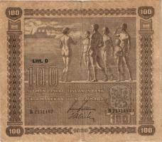 Finnland / Finland P.073 100 Markkaa 1939 (3)