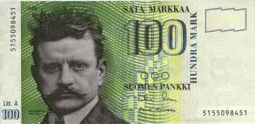 Finnland / Finland P.119 100 Markkaa 1986 (3+)
