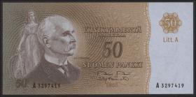 Finnland / Finland P.105 50 Markkaa 1963 Litt.A (1)