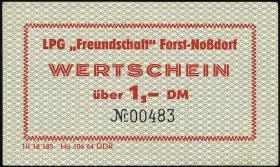"LPG Forst-Noßdorf ""Freundschaft"" 1 DM (1)"