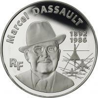 Frankreich 10 Euro 2010 Marcel Dassault