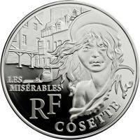 Frankreich 10 Euro 2011 Cosette (Les Miserables)