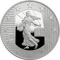 Frankreich 10 Euro 2013 Säerin / Industriegelände Pessac