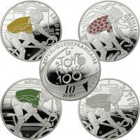 Frankreich 4 x 10 Euro 2013 Tour de France
