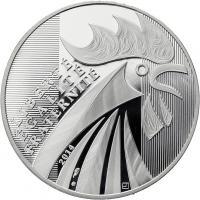 Frankreich 10 Euro 2014 Gallischer Hahn