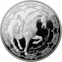 Frankreich 10 Euro 2014 Jahr des Pferdes