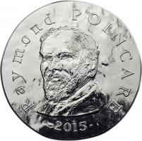 Frankreich 10 Euro 2015 Raymond Poincaré