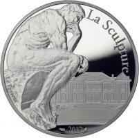 Frankreich 10 Euro 2017 Auguste Rodin