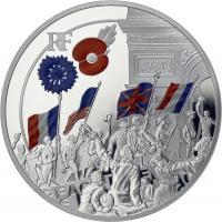 Frankreich 10 Euro 2018 Jubel