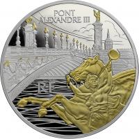 Frankreich 10 Euro 2018 Brücke Alexander III.
