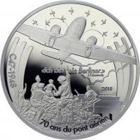 Frankreich 10 Euro 2018 Luftbrücke / C-47 Dakota