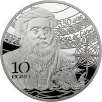 Frankreich 10 Euro 2019 Vasco da Gama