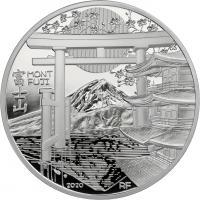 Frankreich 10 Euro 2020 Mont Fuji