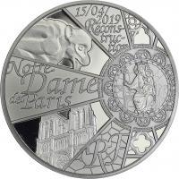 Frankreich 10 Euro 2019 Rekonstruktion Notre-Dame