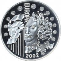 Frankreich 1 1/2 Euro 2002 Europa
