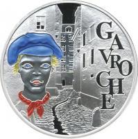 Frankreich  1 1/2 Euro 2002 Gavroche/Victor Hugo