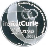 Frankreich 10 Euro 2009 Marie Curie