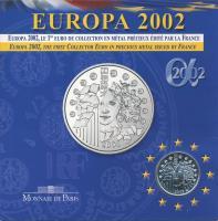 Frankreich 1/4 Euro 2002 Europa (3. Ausgabe)