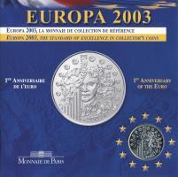 Frankreich 1/4 Euro 2003 Europa (4. Ausgabe)