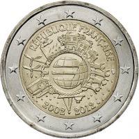 Frankreich 2 Euro 2012 Euro-Bargeld