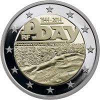 Frankreich 2 Euro 2014 D-Day PP
