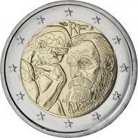 Frankreich 2 Euro 2017 Auguste Rodin