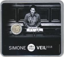 Frankreich 2 Euro 2018 Simone Veil Blister